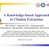 A knowledge-based approach to citation extraction