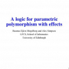A Logic for Parametric Polymorphism with Effects