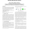 A logical framework for modeling and reasoning about semantic web services contract