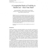 A longitudinal study of usability in health care: Does time heal?