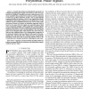 A low complexity blind estimator of narrowband polynomial phase signals