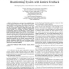 A low complexity linear multiuser MIMO beamforming system with limited feedback