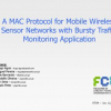A MAC Protocol for Mobile Wireless Sensor Networks with Bursty Traffic