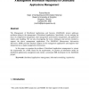 A management information repository for distributed applications management