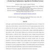 A Market-Based Optimization Algorithm for Distributed Systems