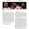 A mass spring model for hair simulation