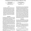 A Mechanism for Group Decision Making in Collaborative Activity