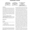 A memetic algorithm for gene selection and molecular classification of cancer