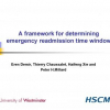 A Method for Determining an Emergency Readmission Time Window for Better Patient Management