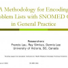 A Methodology for Encoding Problem Lists with SNOMED CT in General Practice