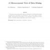 A Microeconomic View of Data Mining
