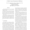 A Mobile Context Dissemination Middleware