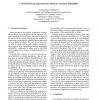 A Model Driven Approach for Software Systems Reliability