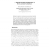 A Model for Dynamic Reconfiguration in Service-Oriented Architectures