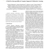 A Model for Interoperability in Computer Supported Collaborative Learning