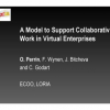 A Model to Support Collaborative Work in Virtual Enterprises