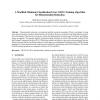 A Modified Minimum Classification Error (MCE) Training Algorithm for Dimensionality Reduction
