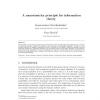 A Monotonicity Principle for Information Theory