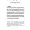 A Mote-in-the-Loop Approach for Exploring Communication Strategies for Sensor Networks