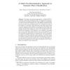 A Multi Cue Discriminative Approach to Semantic Place Classification