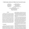 A Multi-Threading Architecture for Multilevel Secure Transaction Processing