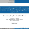 A multiaccess tree algorithm with free access, interference cancellation and single signal memory requirements