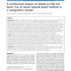 A multifactorial analysis of obesity as CVD risk factor: Use of neural network based methods in a nutrigenetics context