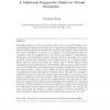 A multiscale progressive model on virtual navigation