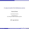 A Natural Model of the Multiverse Axioms
