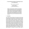 A Need-Oriented Assessment of Technological Trends in Web Engineering