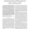 A new admission control scheme under energy and QoS constraints for wireless networks