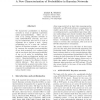 A New Characterization of Probabilities in Bayesian Networks