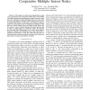 A New Search Algorithm using Autonomous and Cooperative Multiple Sensor Nodes