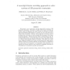 A non-rigid cluster rewriting approach to solve systems of 3D geometric constraints