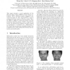 A novel Bayesian shape model for facial feature extraction