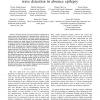 A Novel Wavelet Based Algorithm for Spike and Wave Detection in Absence Epilepsy