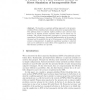 A Parallel PSPG Finite Element Method for Direct Simulation of Incompressible Flow