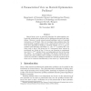 A Parameterized View on Matroid Optimization Problems