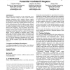 A particle swarm optimization approach for estimating parameter confidence regions