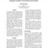 A Pattern-based Analyzer for French in the Context of Spoken Language Translation: First Prototype and Evaluation