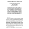 A Performance Study of Event Processing Systems