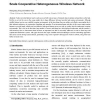 A Possible Development of Marine Internet: A Large Scale Cooperative Heterogeneous Wireless Network