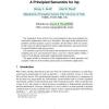A Principled Semantics for inp