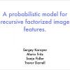 A Probabilistic Model for Recursive Factorized Image Features