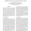A Probabilistic Notion of Correspondence and the Epipolar Constraint