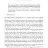 A Probabilistic Segmentation Scheme