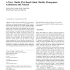 A Proxy Mobile IPv6 Based Global Mobility Management Architecture and Protocol