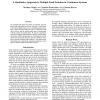 A Qualitative Approach to Multiple Fault Isolation in Continuous Systems