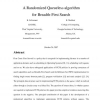 A Randomized Queueless Algorithm for Breadth-First Search