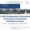 A (Re)Configuration Mechanism for Resource-Constrained Embedded Systems